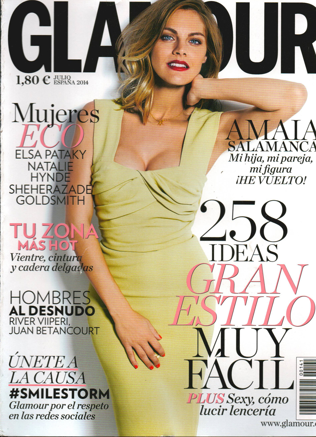 glamour cover julio