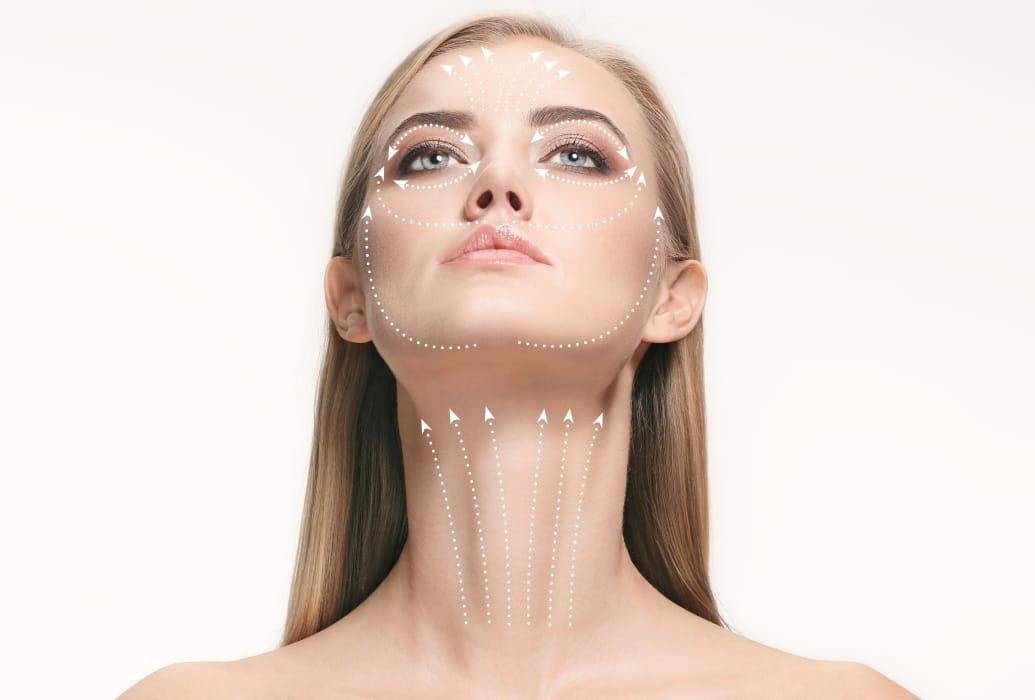 Indicado para prevenir y revertir flacidez en cara y cuello