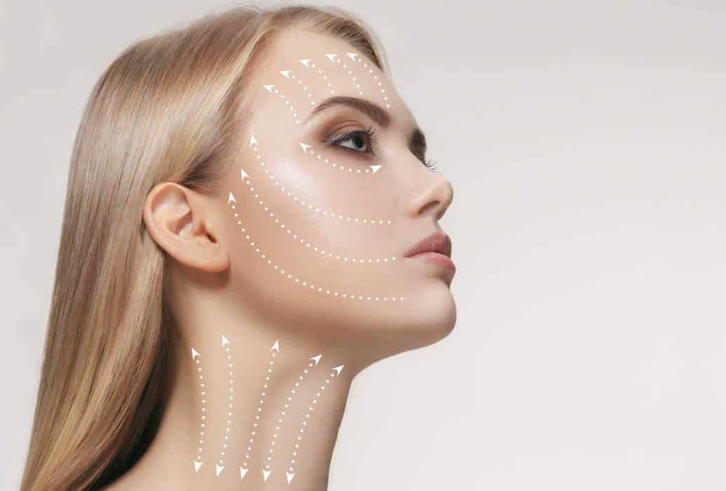 Técnica sencilla y segura – Malla de hilos trenzados que sostienen el tejido del rostro
