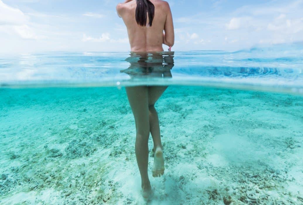 Tratamiento médico para rebajar los bordes de la estría y estimular la circulación