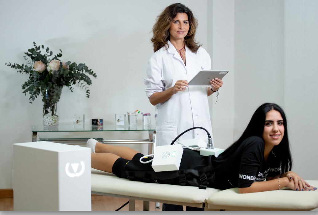 Indicado para aumentar el volumen y la calidad de las fibras musculares en glúteos, abdomen, brazos y piernas